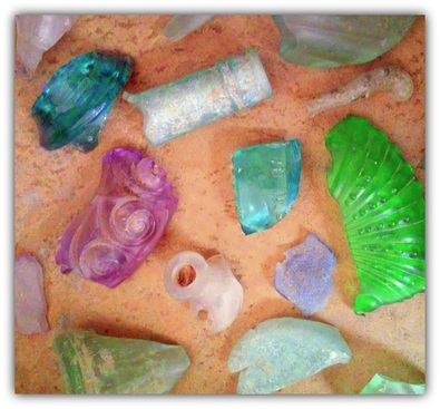 tumbled southwestern glass